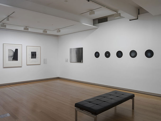 Installation view of 'Less than: Art and reductionism' at QUT Art Museum