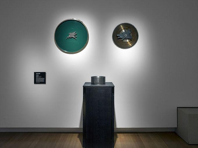 Installation view of 'STEEL: art design architecture'  Photo: Carl Warner