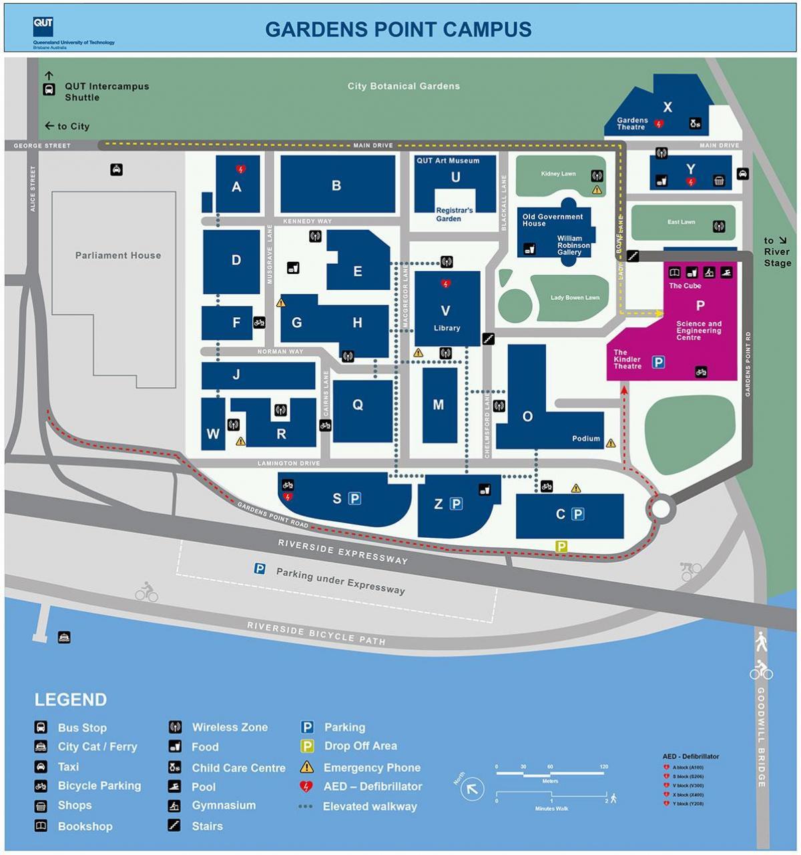 High resolution parking map
