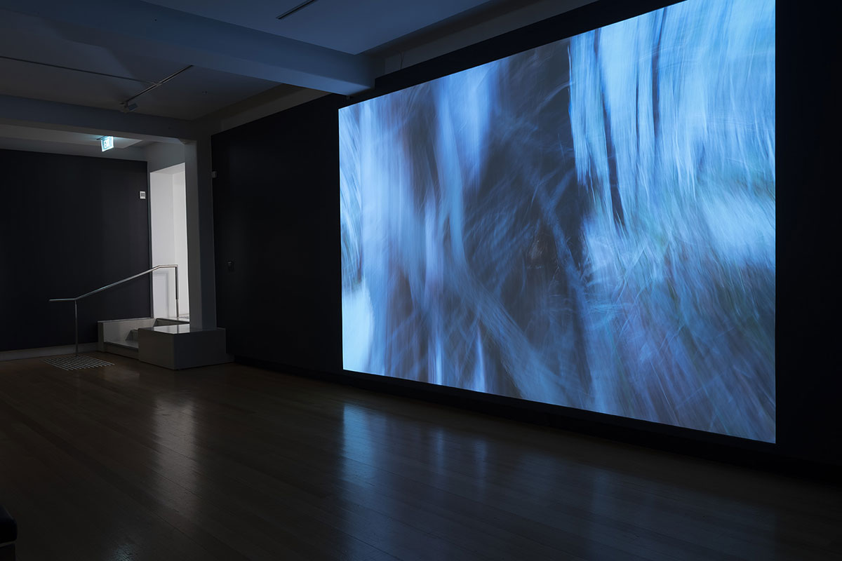Installation view of 'Rite of Passage', pictured work by Leah King-Smith, QUT Art Museum, 2019. Photo by Carl Warner.