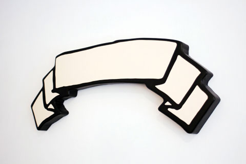 Shaun O'Connor 'Untitled' 2012 | cardboard, thermal adhesive, lacquer, resin and spray enamel | Courtesy of the artist, Krause Gallery, New York City and Dianne Tanzer Gallery + Projects, Melbourne