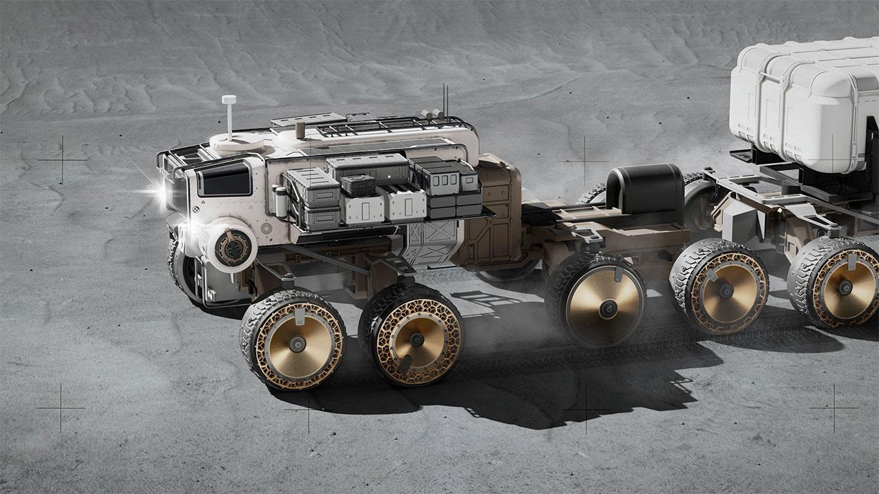 Benjamin DONNELLY 'Lunar Rover' 2020, digital. Courtesy of the artist.