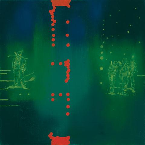 Jon Cattapan 'Night vision studies vii' 2009 | oil on belgian linen | AWM ART94059