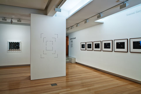 Installation view of 'open closed: Lincoln Austin, Sean Phillips and Arryn Snowball' | Photo: Richard Stringer