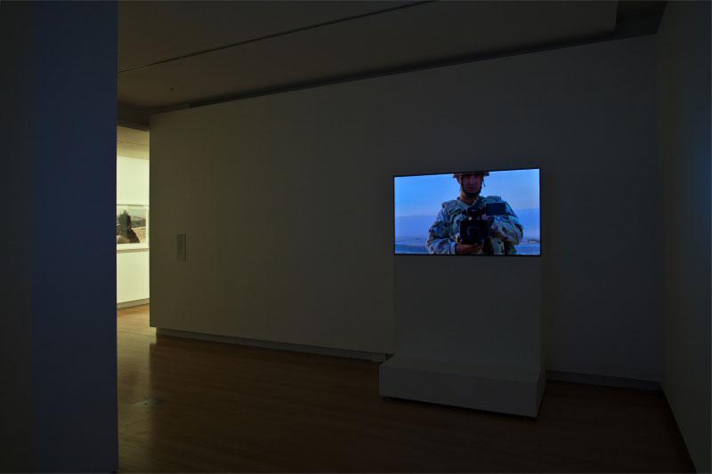 Installation view of 'Shaun Gladwell: Afghanistan' | Photo: Richard Stringer