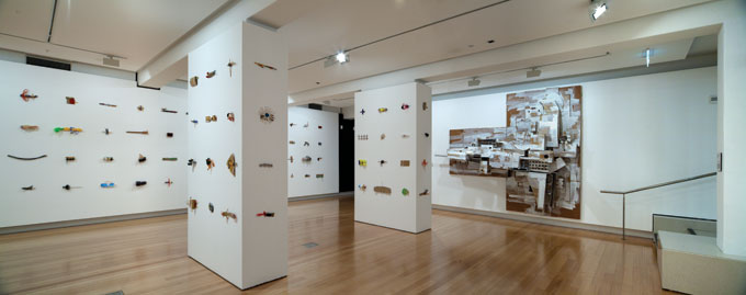 Alfredo and Isabel AQUILIZAN 'Fragments from 'In-Flight: Project: Another Country' 2009 | mixed media | Project included in the 6th Asia Pacific Triennial of Contemporary Art (APT6), Queensland Art Gallery/Gallery of Modern Art, 2009 | Courtesy of the artists | Photo: Richard Stringer