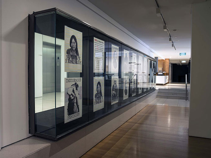 Installation view of 'Frontier imaginaries: the life of lines' | Photo: Carl Warner