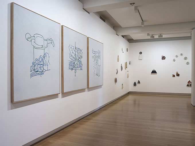 Installation view of 'the churchie national emerging art prize' | Photo: Carl Warner
