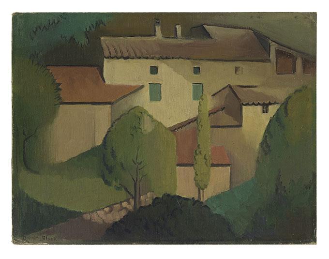 Dorrit BLACK  'Provençale farmhouse' 1928  oil on canvas on cardboard  National Gallery of Australia, Canberra  Purchased 2014  Courtesy National Gallery of Australia, Canberra