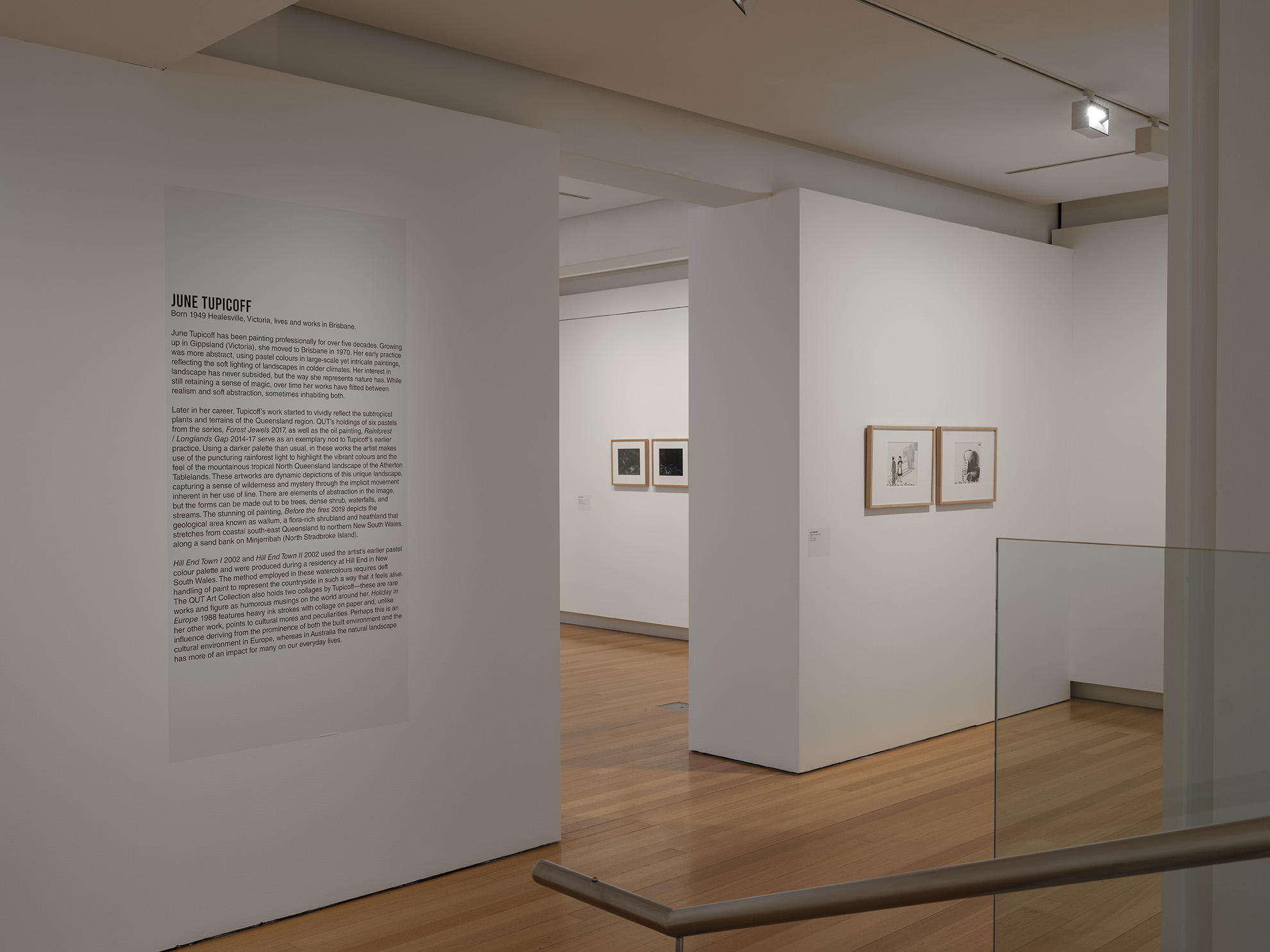 Installation view of 'Odd Bedfellows' (29 August - 8 November 2020), QUT Art Museum. Photo by Carl Warner.