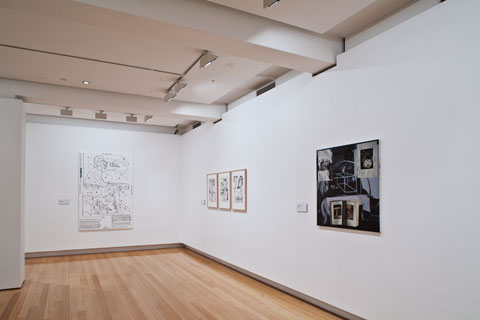 Installation view of 'Selected works: New acquisitions from the QUT Art Collection' | Photo: Richard Stringer