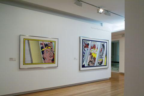 Installation view of 'Roy Lichtenstein: Pop Remix | Photo: Richard Stringer
