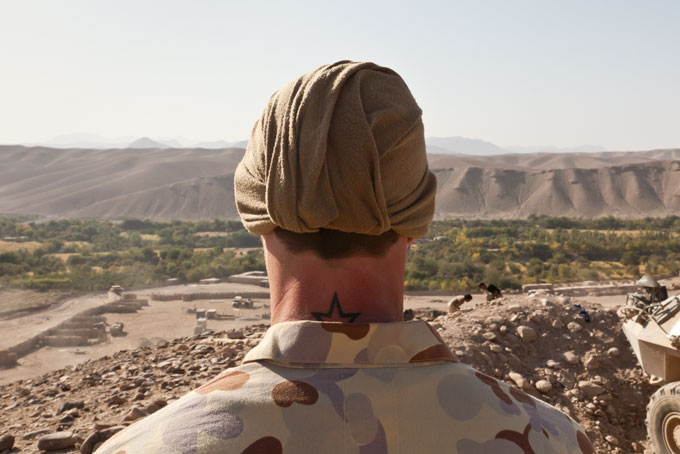 Shaun GLADWELL 'BPOV MEAO (Behind Point of View, Middle East Area of Operations)' 2009-10 | digital colour photograph | Collection: Australian War Memorial P10015.004