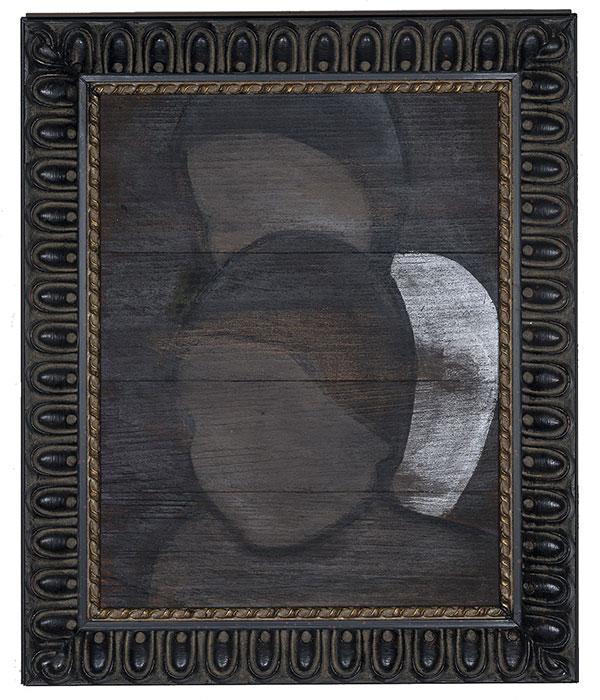 Judith WRIGHT 'The ancestors' 2014 | synthetic polymer paint, wood | 58 x 45 x 4.5cm | photo: Carl Warner