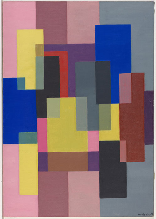 Mary WEBB  'Abstract painting' 1955  oil on canvas  National Gallery of Australia, Canberra  Purchased 1976  Courtesy National Gallery of Australia, Canberra