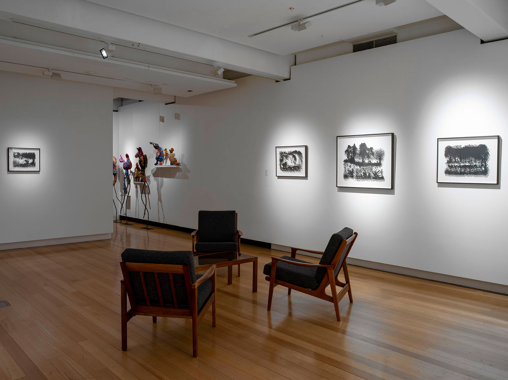 Installation view of 'Beyond reason' Photo: Carl Werner