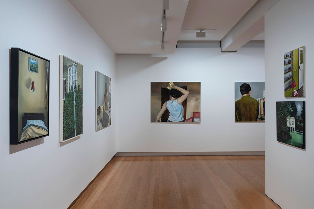 Installation view of 'Anne Wallace: Strange Ways' (9 November 2019 - 23 February 2020), QUT Art Museum. Photo by Carl Warner.