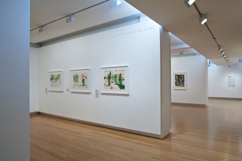 Installation view of 'Perspectives: Jon Cattapan and eX de Medici' | Photo: Richard Stringer