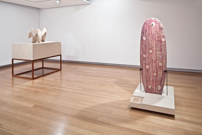 Installation view of 'WOOD: art design architecture' | Photo: Richard Stringer