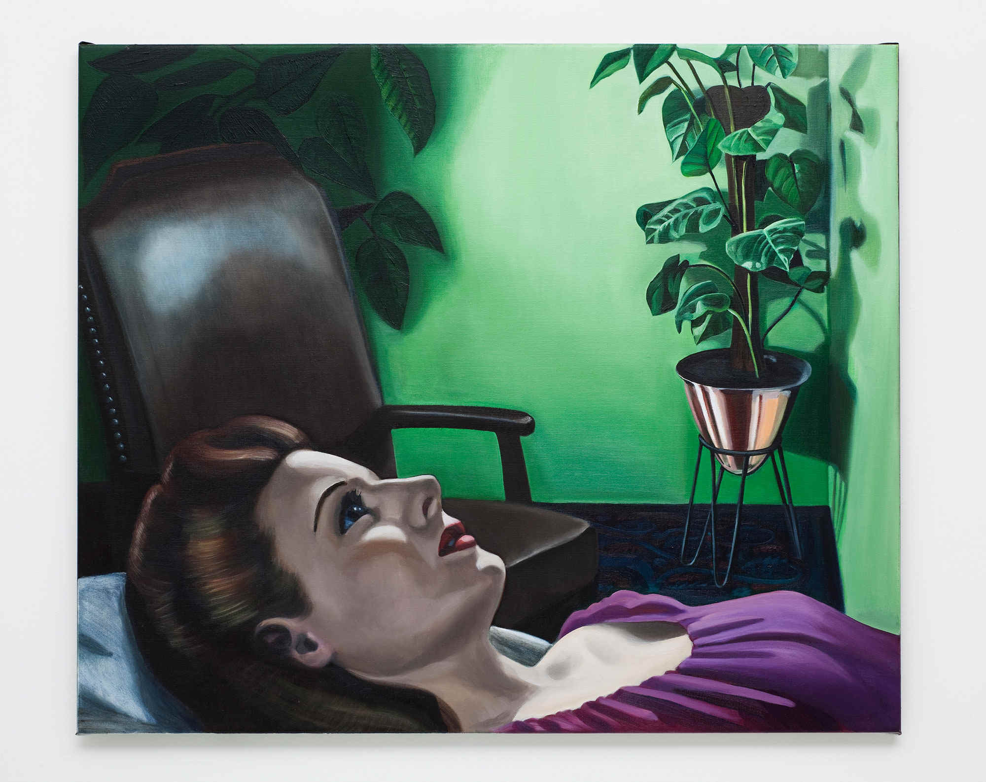 Anne WALLACE 'Talking Cure' 2010 | oil on canvas | Collection of Brisbane Girls Grammar School, Brisbane