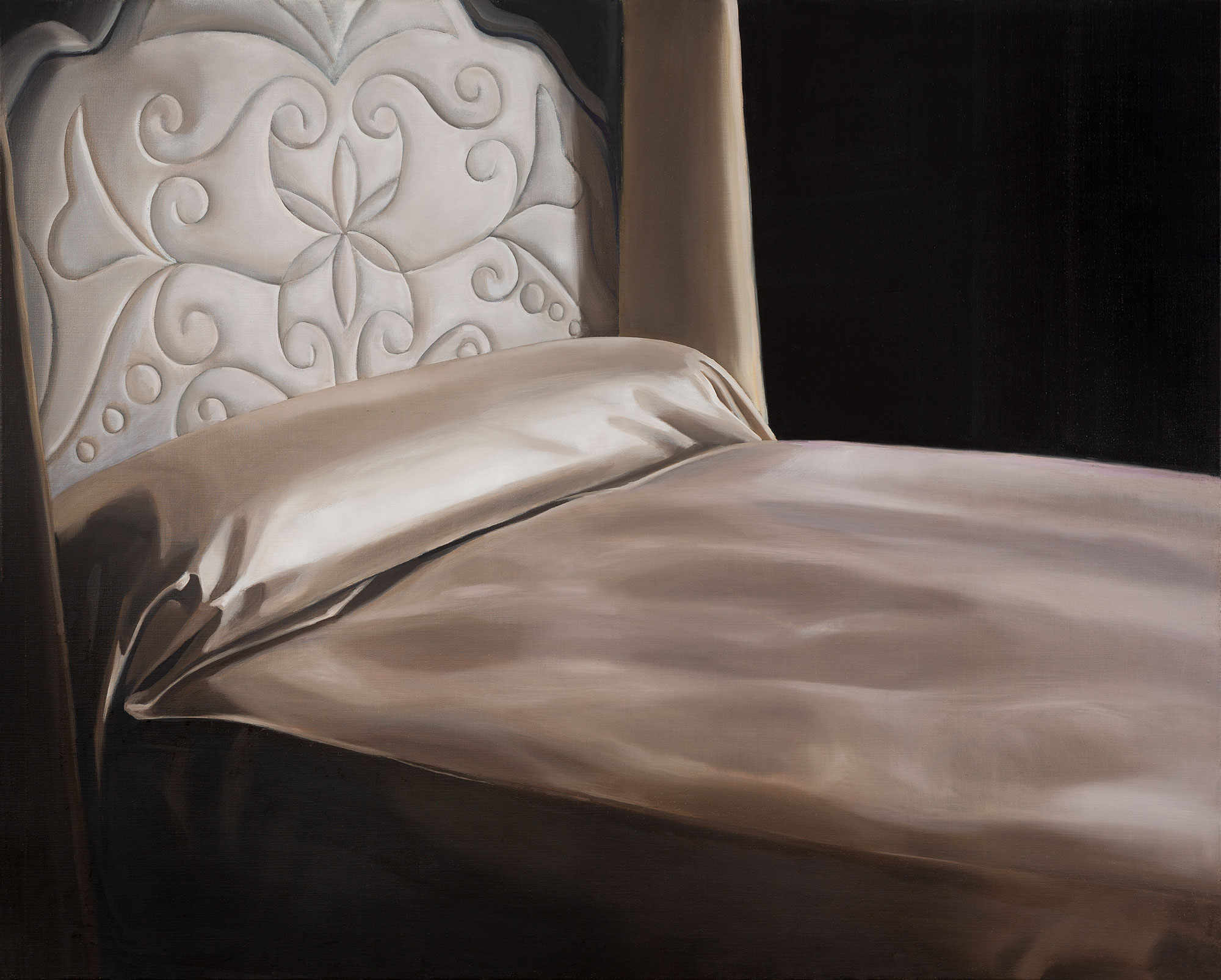 Anne WALLACE 'Boudoir' 1997 | oil on canvas | Collection of James and Jacqui Erskine, Sydney