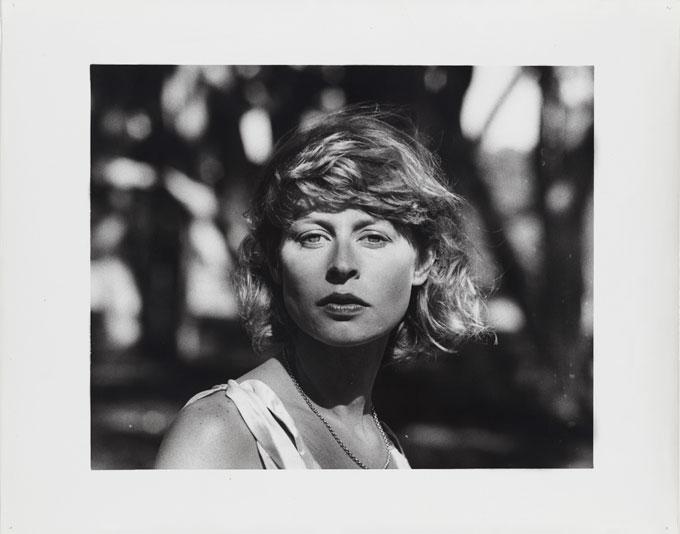 Carol JERREMS 'Judy Morris' 1977 | gelatin silver photograph | National Gallery of Australia, Canberra | Gift of Mrs Joy Jerrems 1981 | copyright Ken Jerrems and the Estate of Lance Jerrems