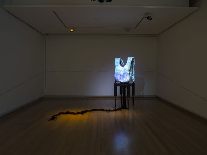 Installation view of 'Transboundaries: art + connection'  Photo: Carl Warner