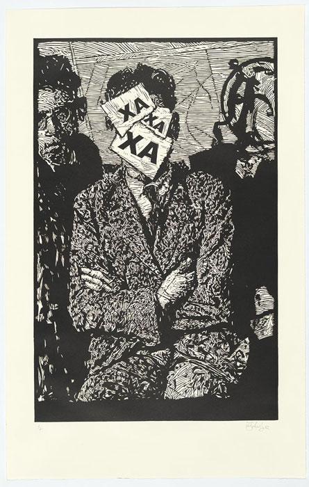 William KENTRIDGE 'XA XA XA' 2010 | relief | National Gallery of Australia, Canberra | The Ponyton Bequest, 2013