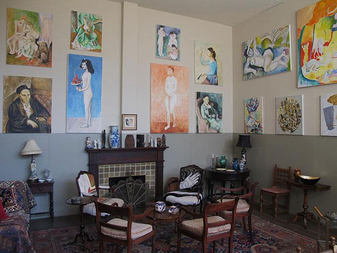 'Salon De Fleurus' installation view  Metabolic Studio  Los Angeles 2011  Courtesy Salon de Fleurus