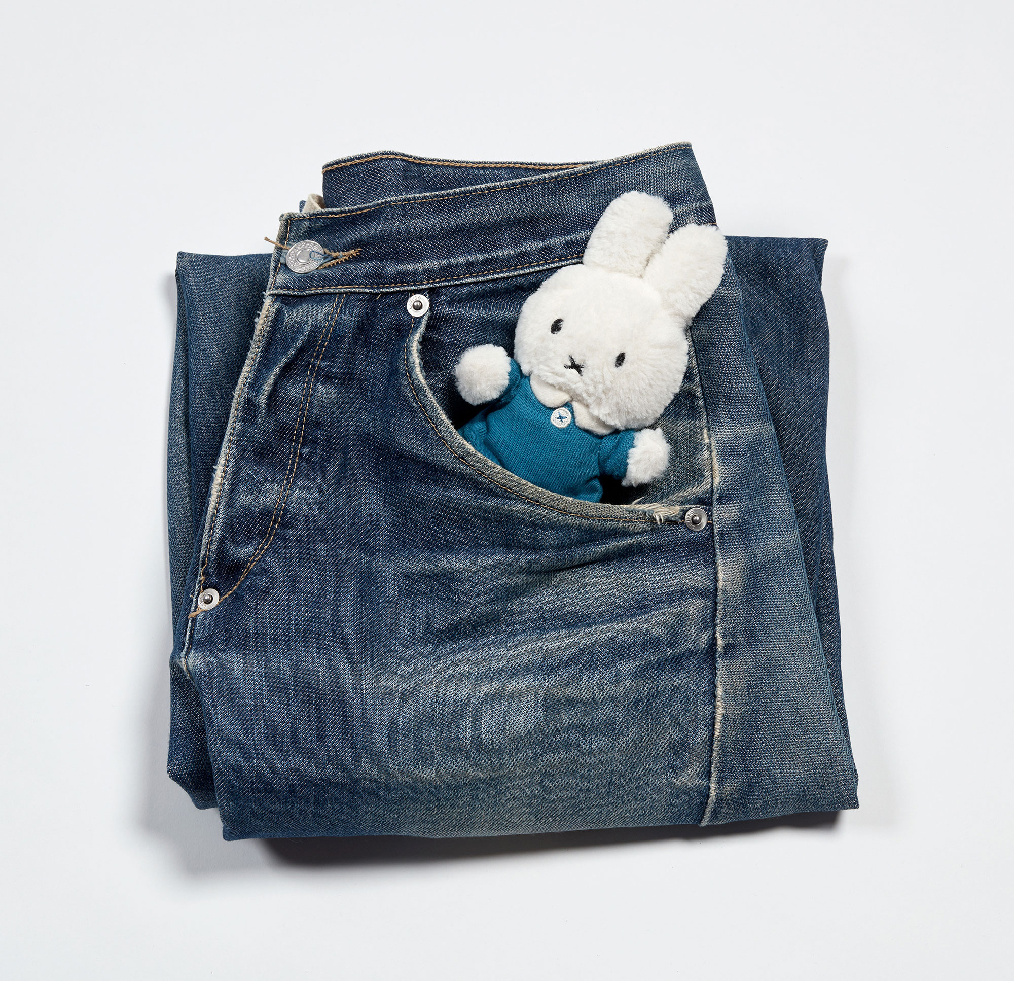 Miffy in jeans pocket