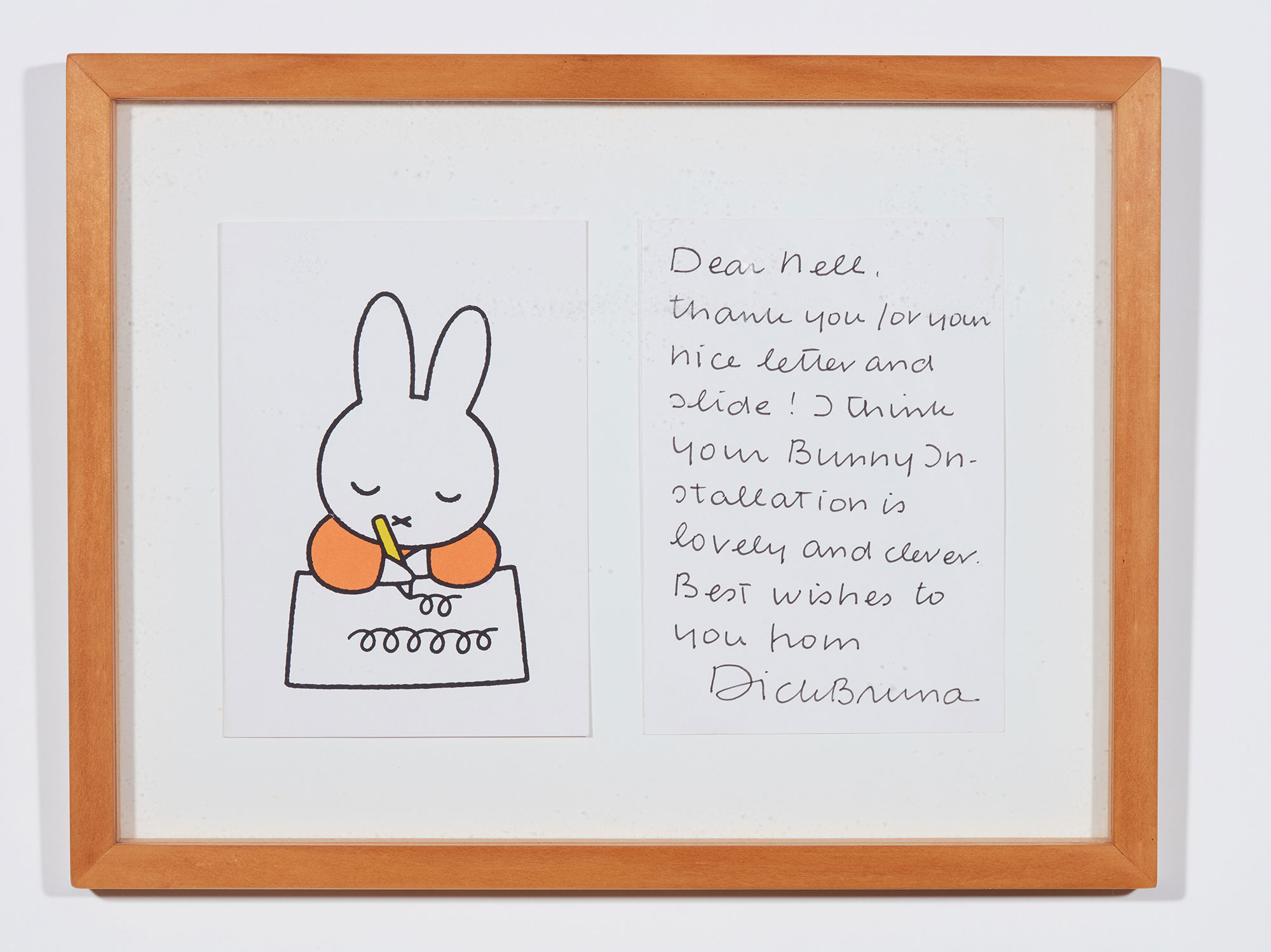 miffy writing a letter