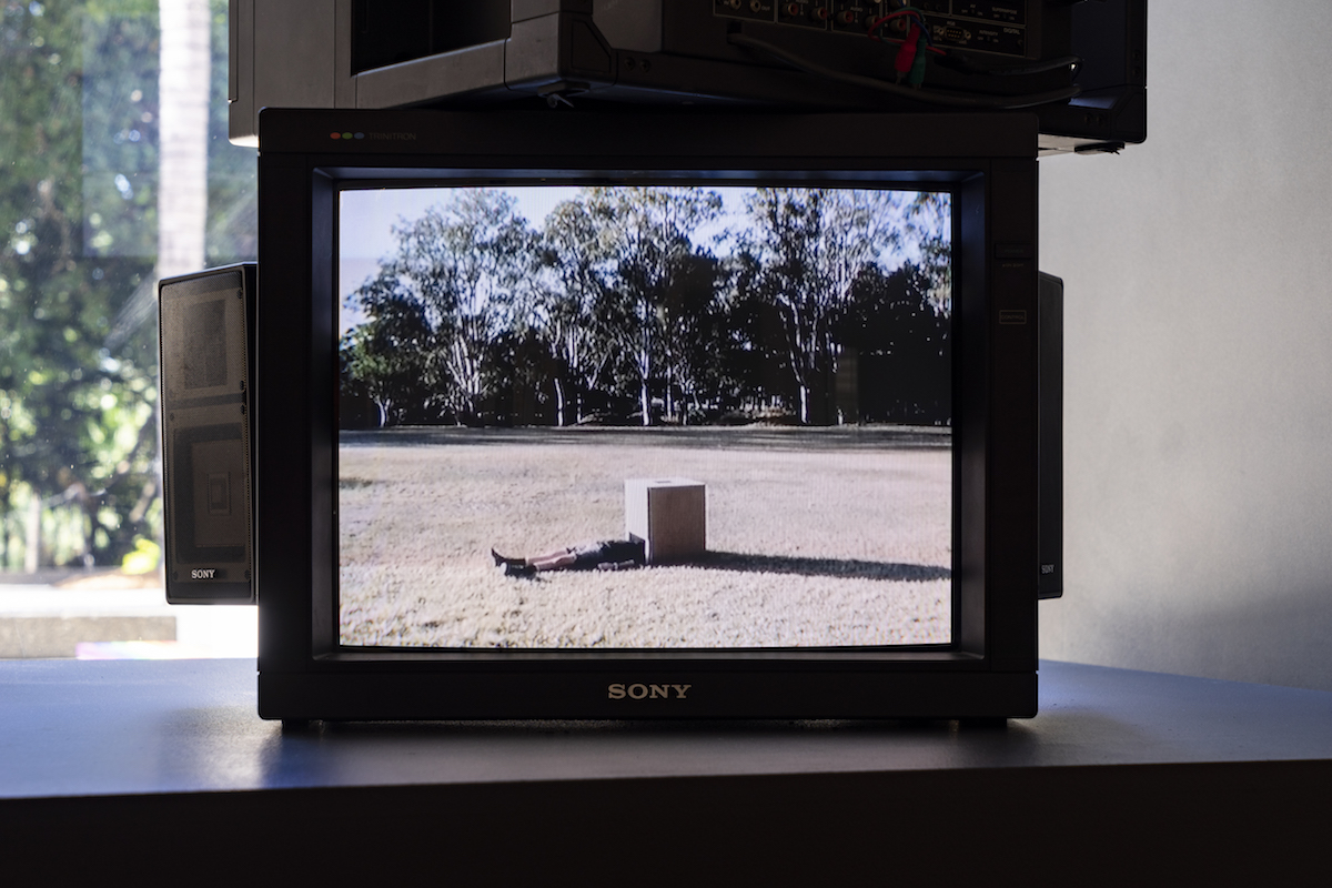 Installation view of 'On Earth' (27 March - 6 June 2021), QUT Art Museum. Photo by Louis Lim