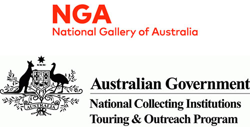 National Gallery of Australia and National Collecting Institutions Touring & Outreach Program